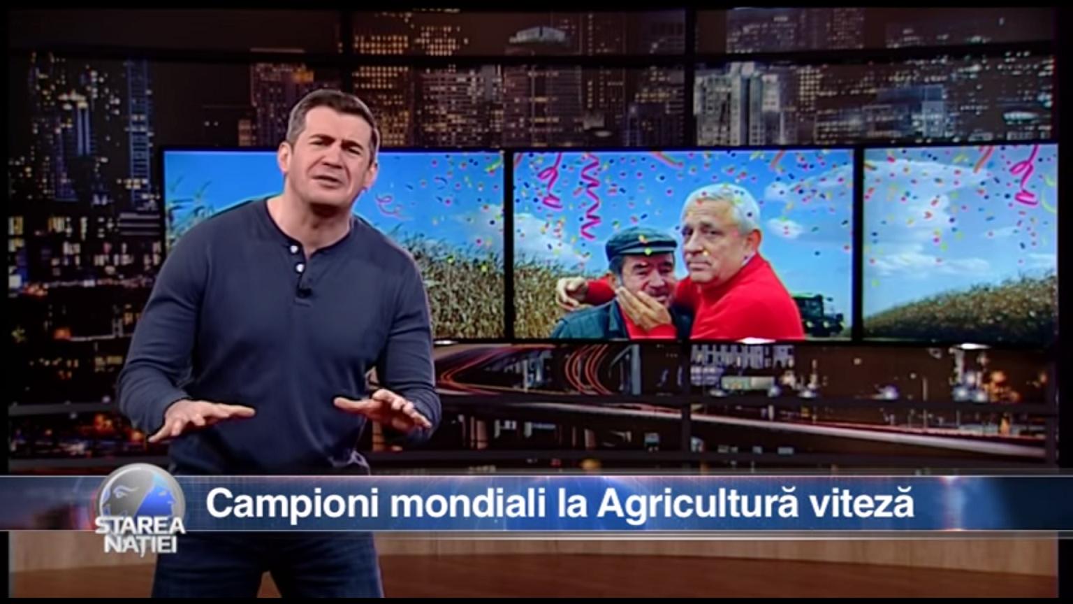 Campioni mondiali la Agricultură viteză