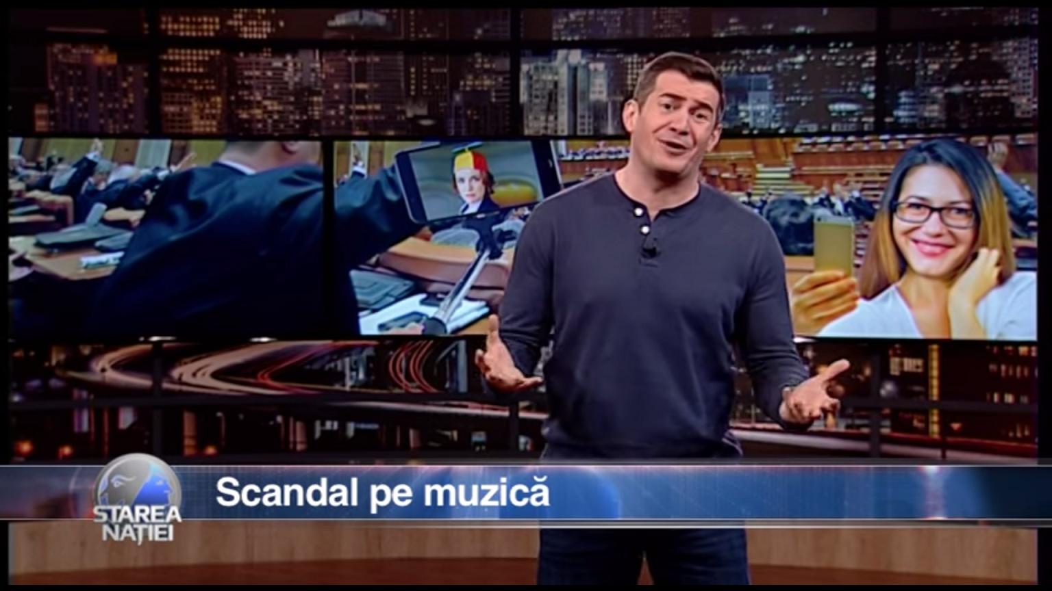Scandal pe muzică