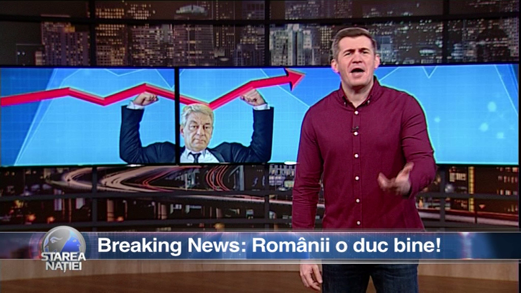 Breaking News: Românii o duc bine!