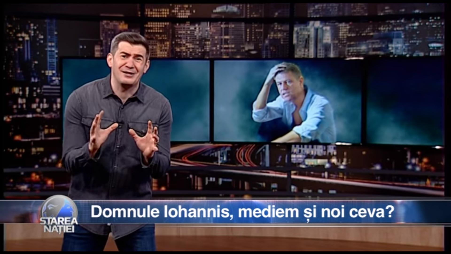 Domnule Iohannis, mediem și noi ceva?