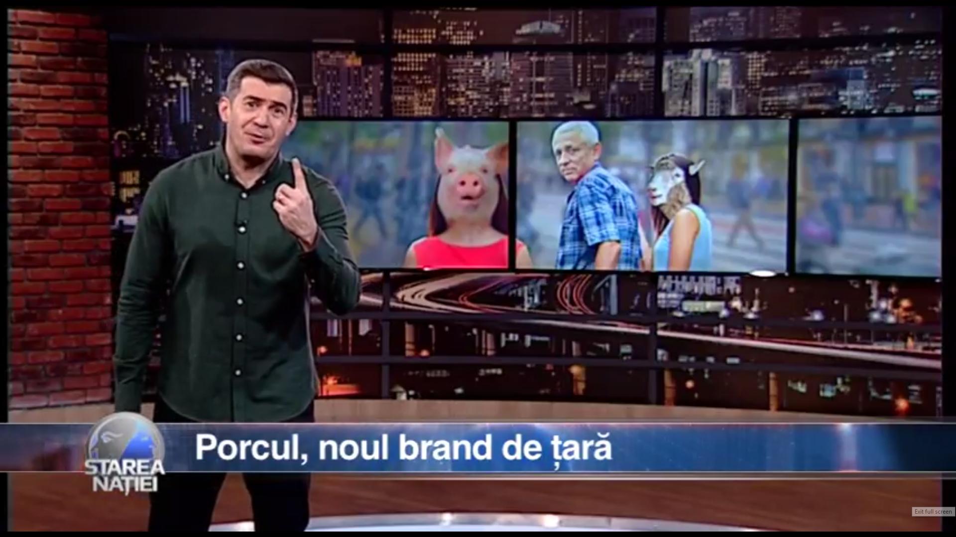 Porcul, noul brand de țară