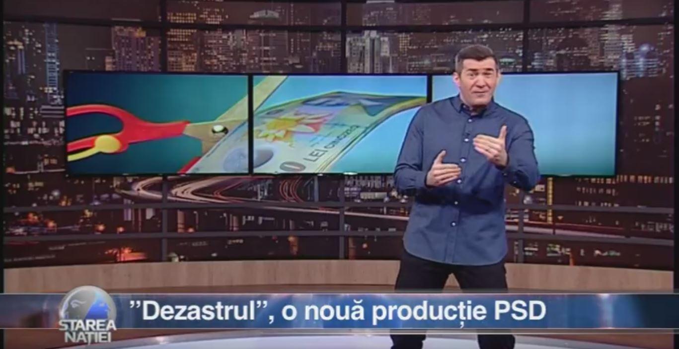 """""""Dezastrul"""", o nouă producție PSD"""