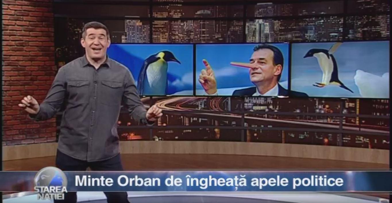 Minte Orban de îngheață apele politice