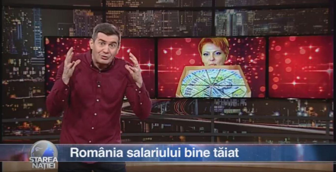România salariului bine tăiat