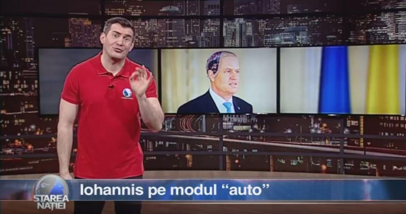 """Iohannis pe modul """"auto"""""""
