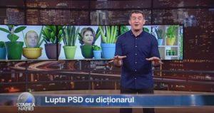 Lupta PSD cu dicționarul