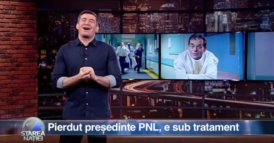 Pierdut președinte PNL, e în tratament