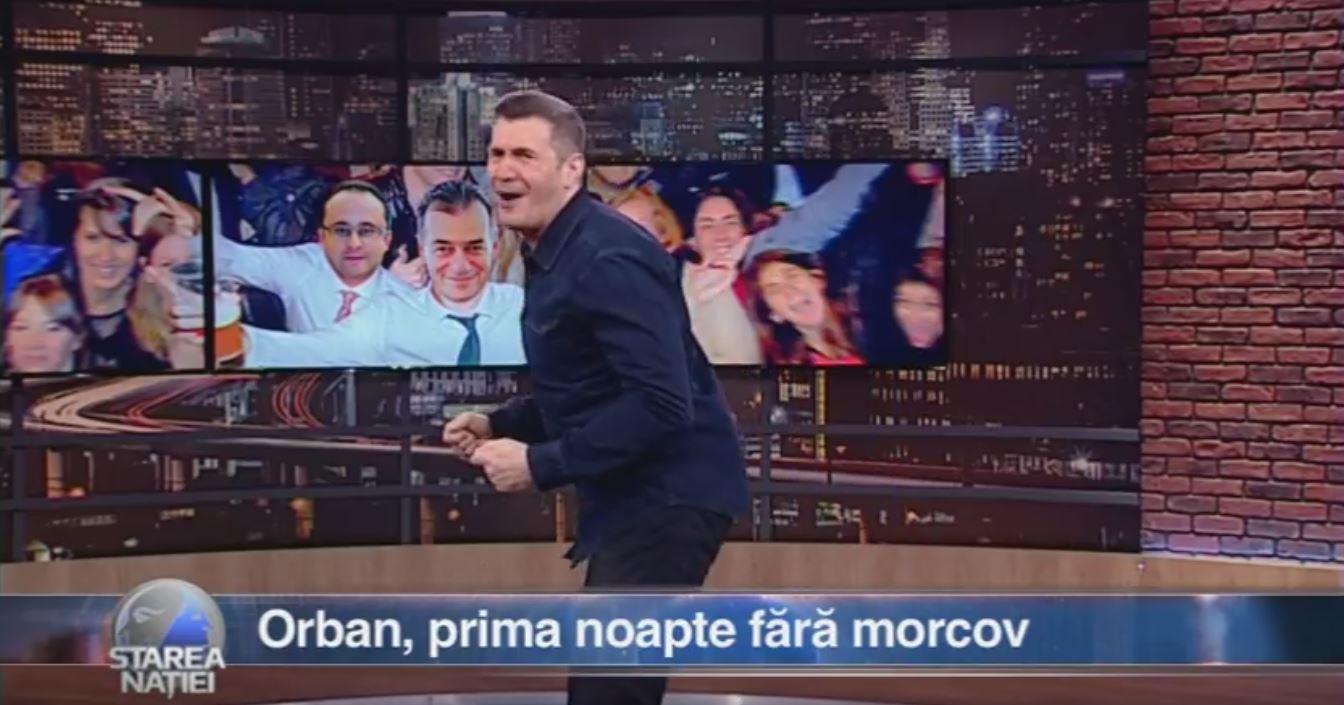 Orban, prima noapte fără morcov