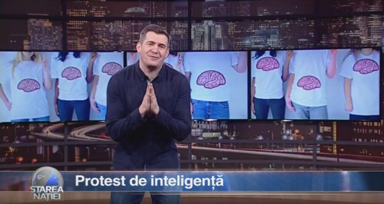 Protest de inteligență