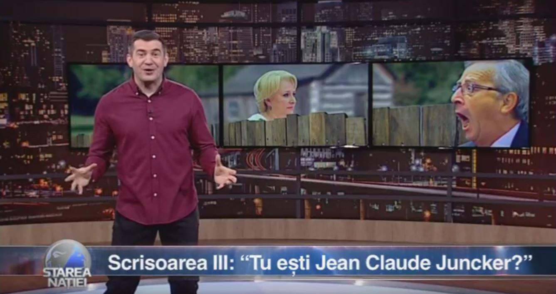 """Scrisoarea III: """"Tu ești Jean Claude Juncker?"""""""
