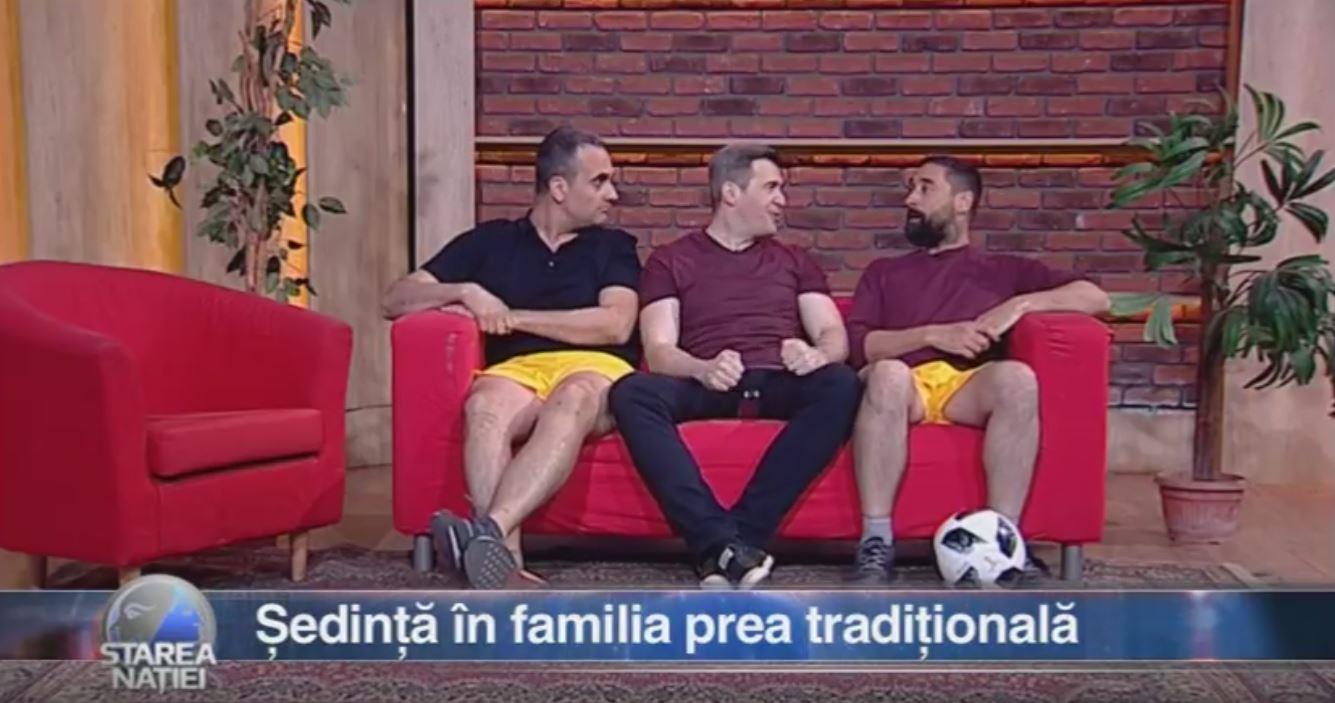 Ședință în familia prea tradițională