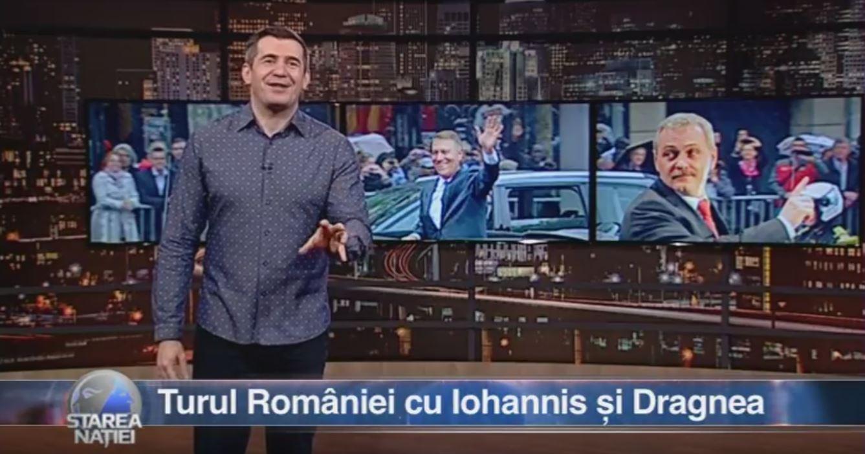 Turul României cu Iohannis și Dragnea
