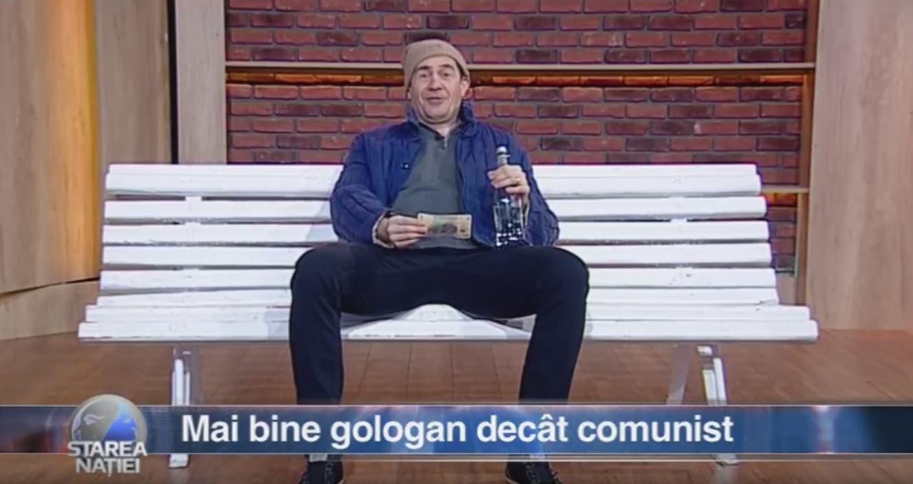 Mai bine gologan decât comunist