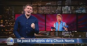 Se joacă Iohannis de-a Chuck Norris