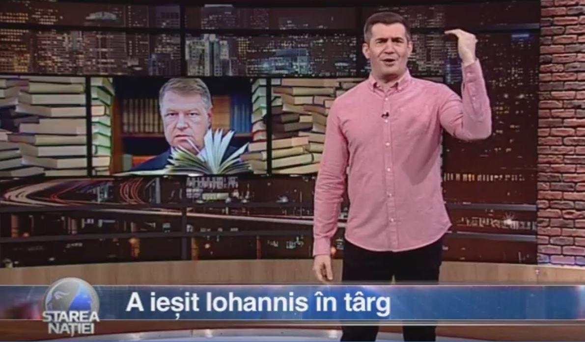 A ieșit Iohannis în târg