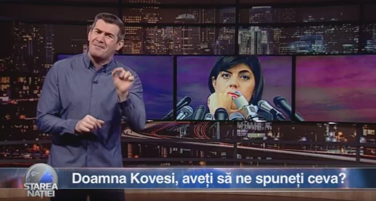 Doamna Kovesi, aveți să ne spuneți ceva?