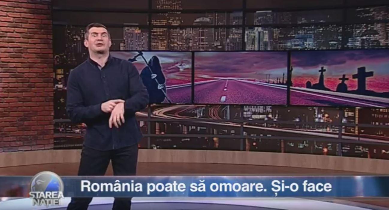 România poate să omoare. Și-o face