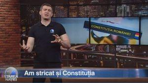 Am stricat și Constituția