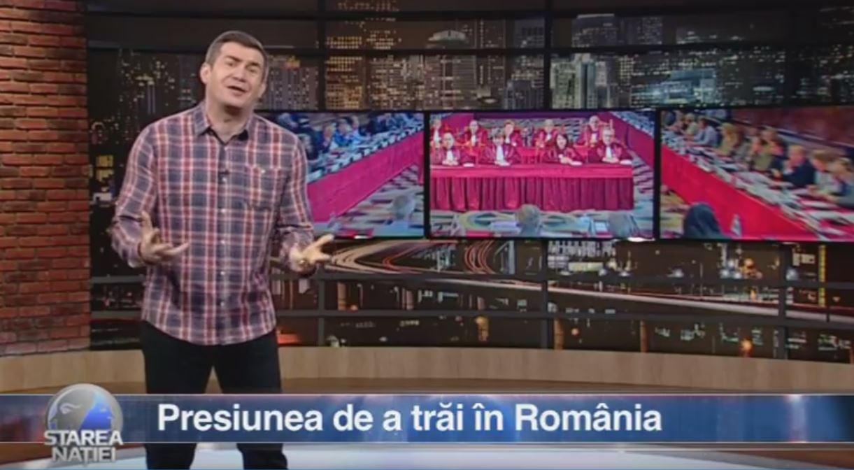 Presiunea de a trăi în România