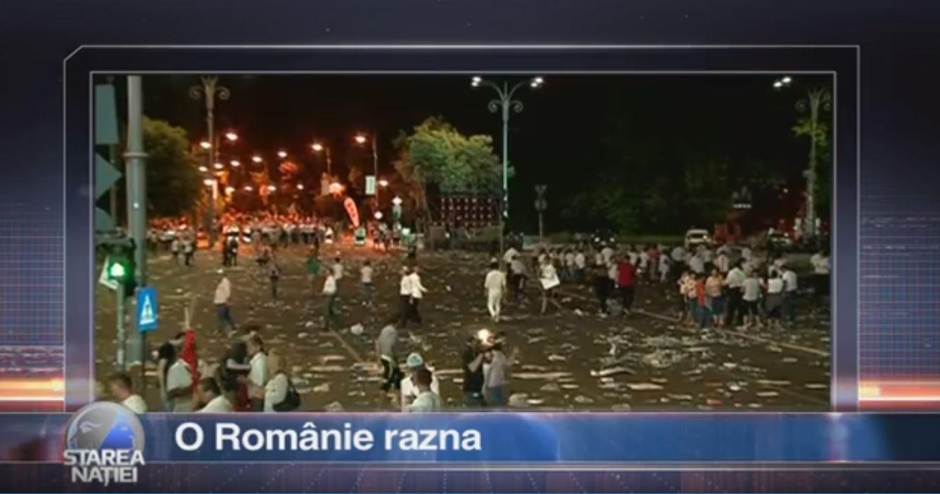 O Românie razna