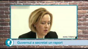 Guvernul a secretat un raport