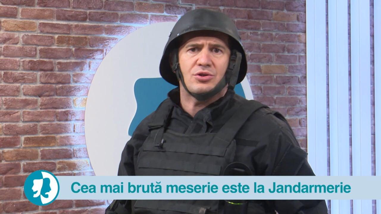 Cea mai brută meserie este la Jandarmerie