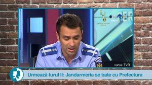 Urmează turul II: Jandarmeria se bate cu Prefectura