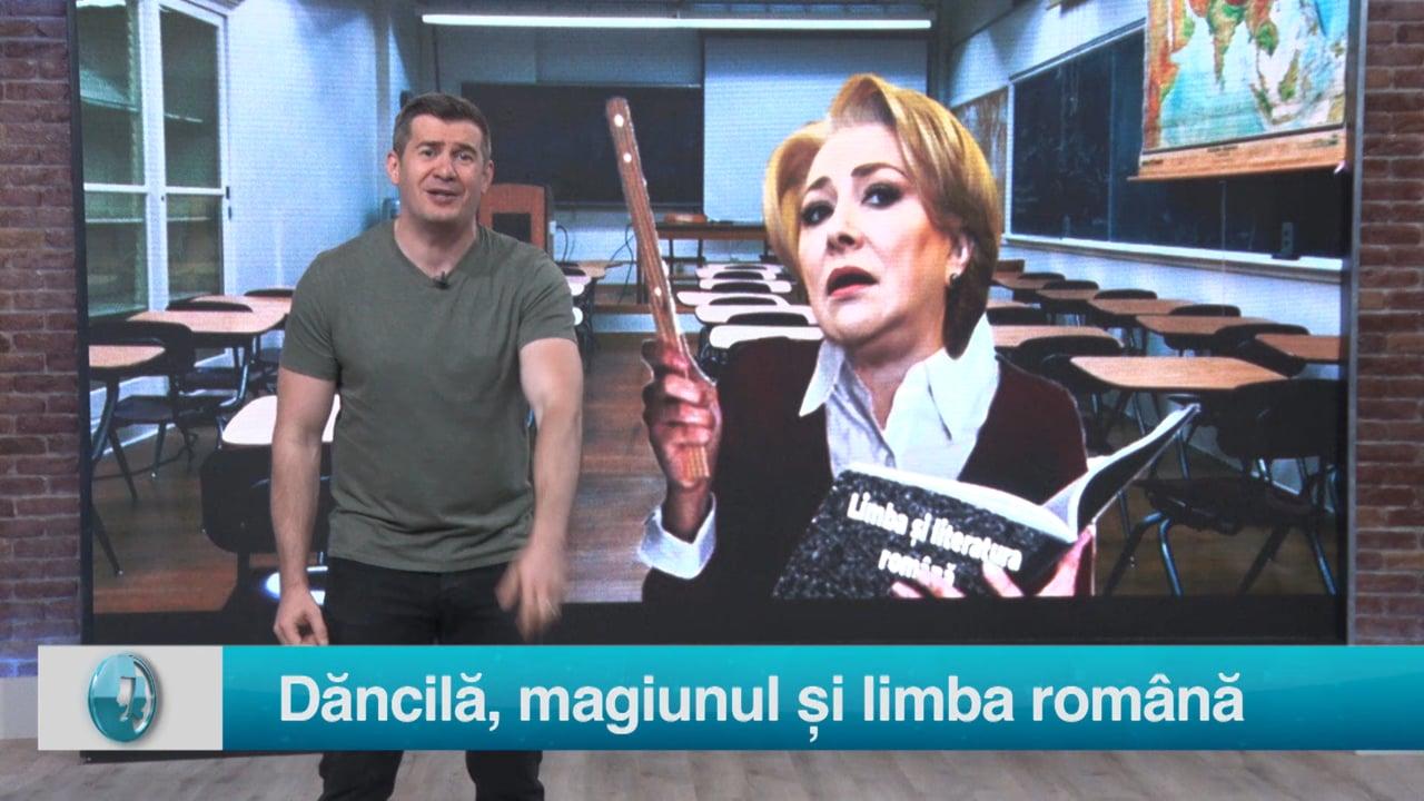 Dăncilă, magiunul și limba română