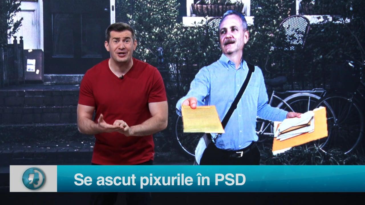 Se ascut pixurile în PSD