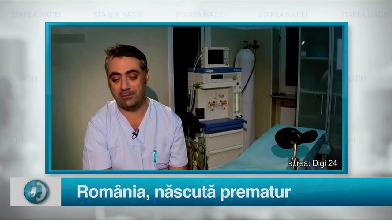 România, născută prematur