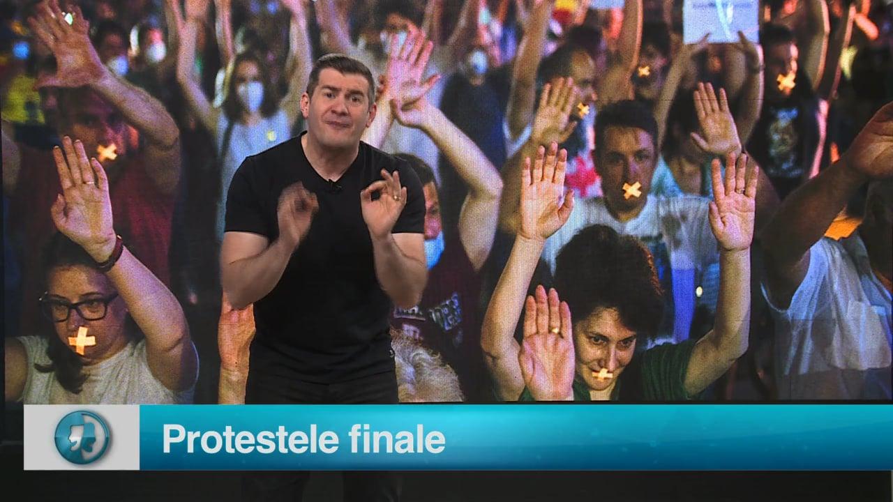 Protestele finale