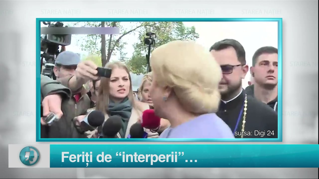 "Feriți de ""interperii""…"