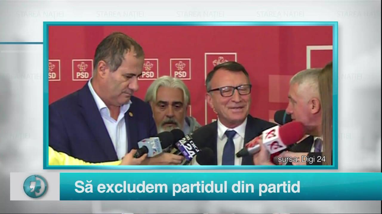 Să excludem partidul din partid