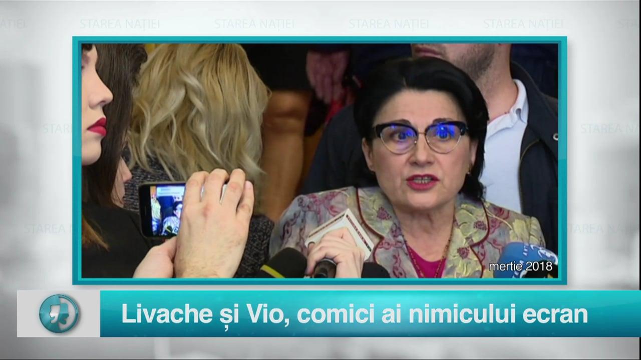 Livache și Vio, comici ai nimicului ecran