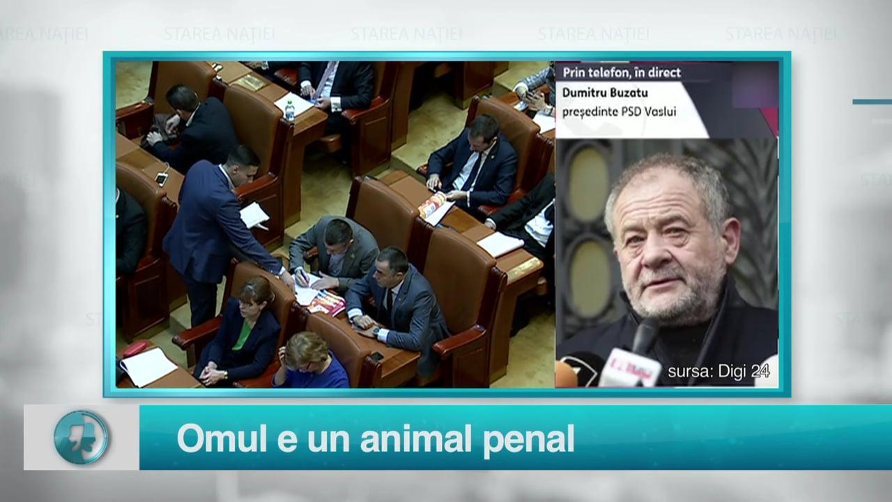 Omul e un animal penal