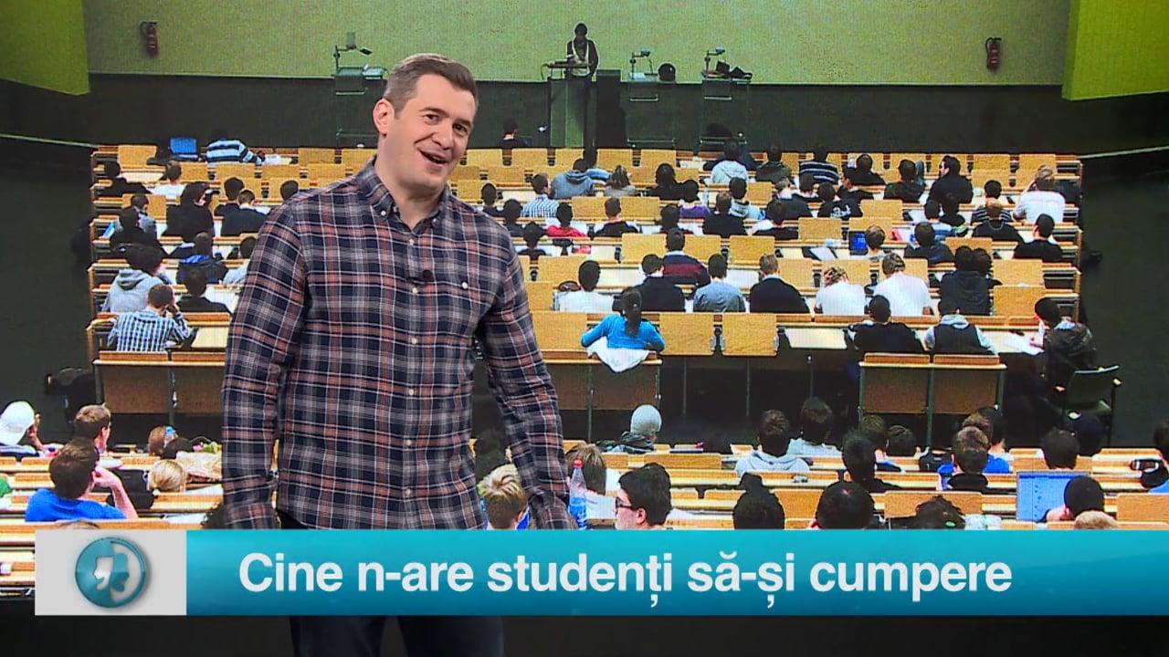 Cine n-are studenți să-și cumpere