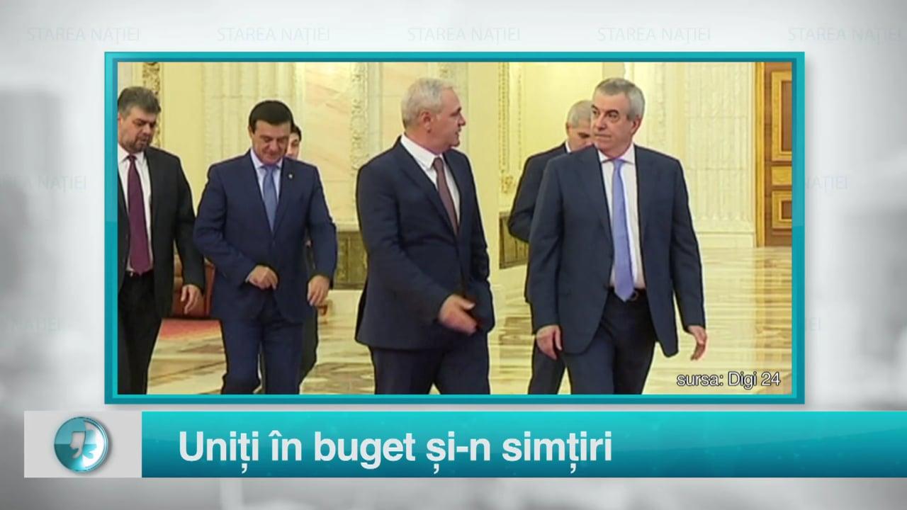 Uniți în buget și-n simțiri