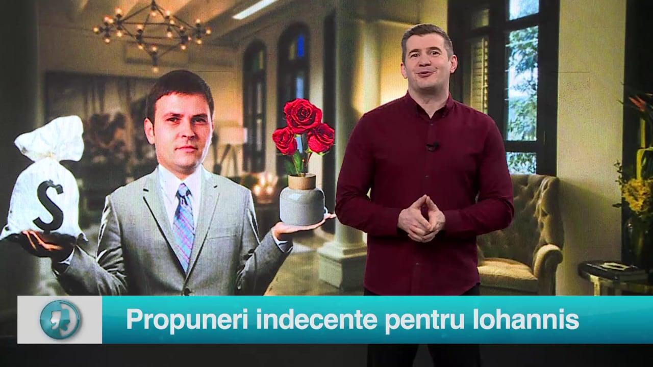 Propuneri indecente pentru Iohannis