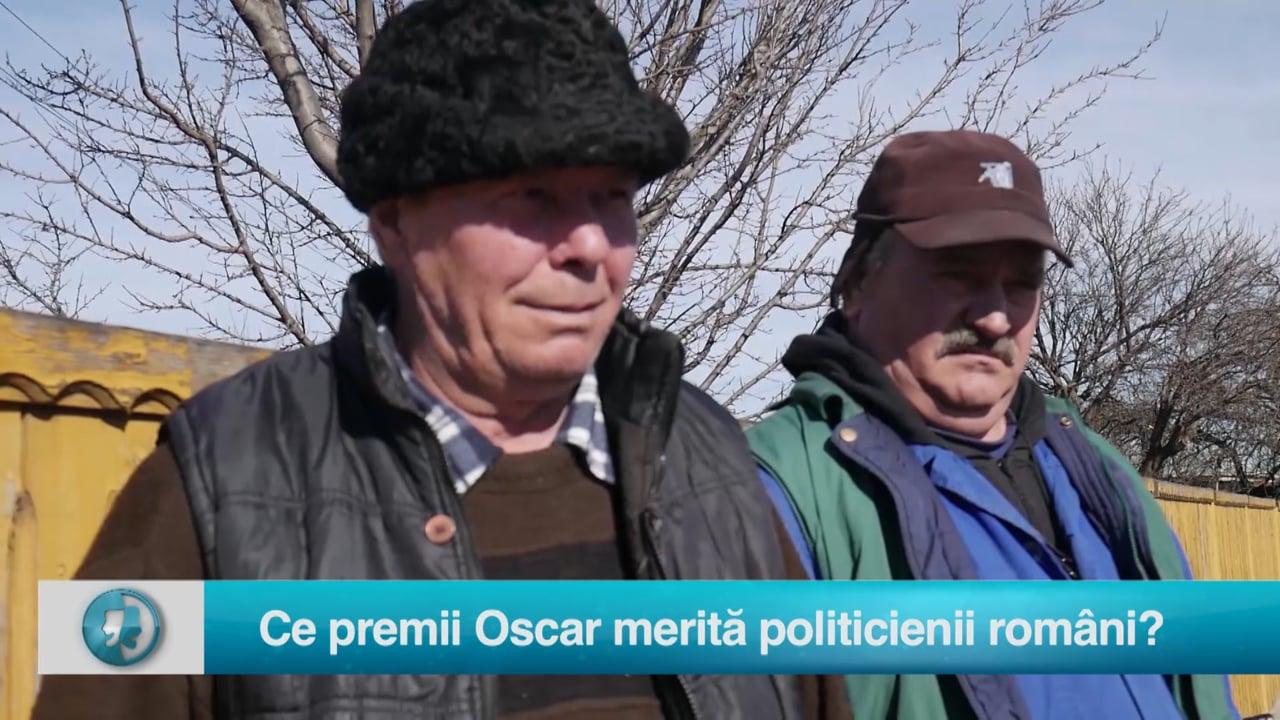 Vax populi: Ce premii Oscar merită politicienii români?