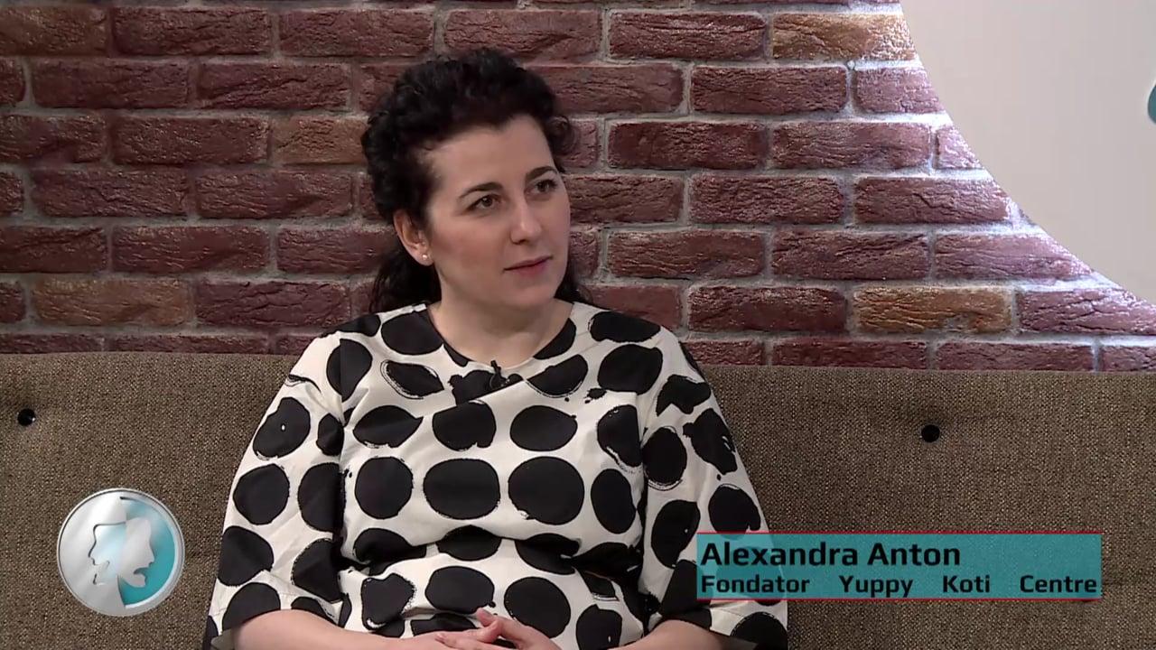 Cafeneaua Nației cu Alexandra Anton