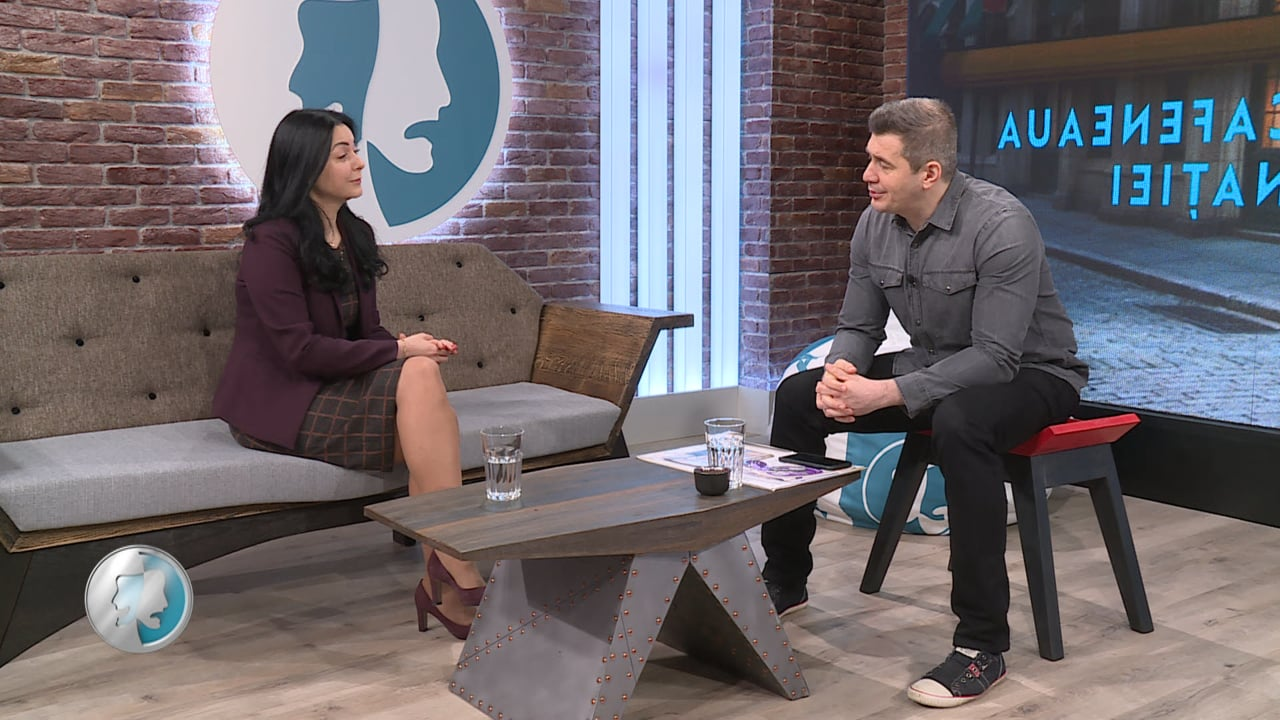 Cafeneaua Nației cu Simona Voicescu