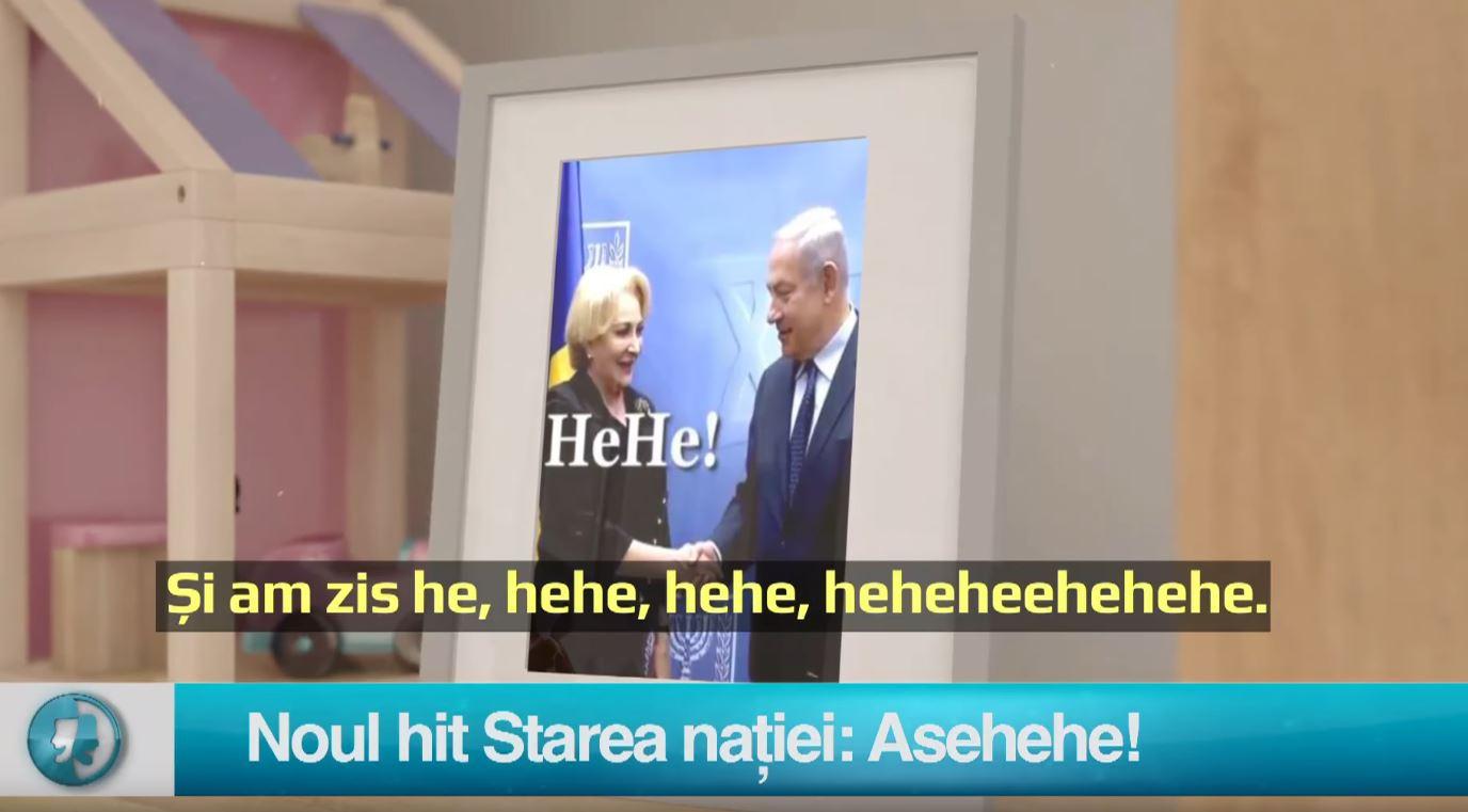 Noul hit Starea nației: Asehehe!