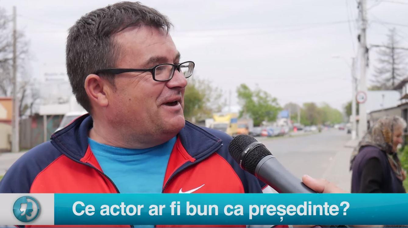Vax populi: Ce actor ar fi bun ca președinte?