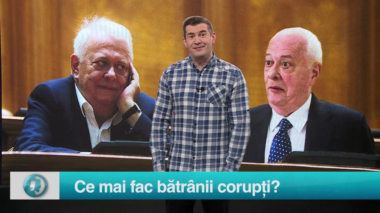 Ce mai fac bătrânii corupți?