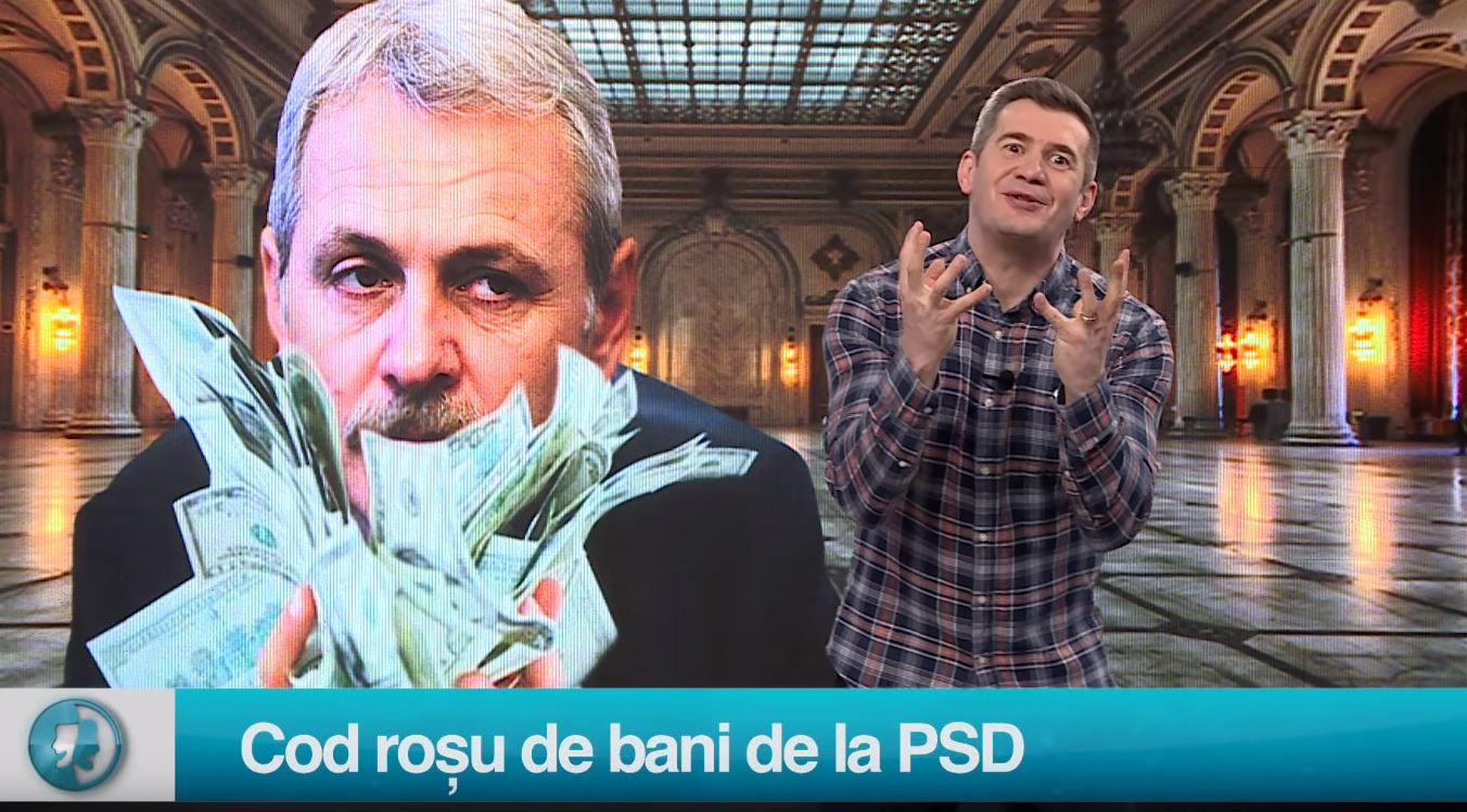 Cod roșu de bani de la PSD