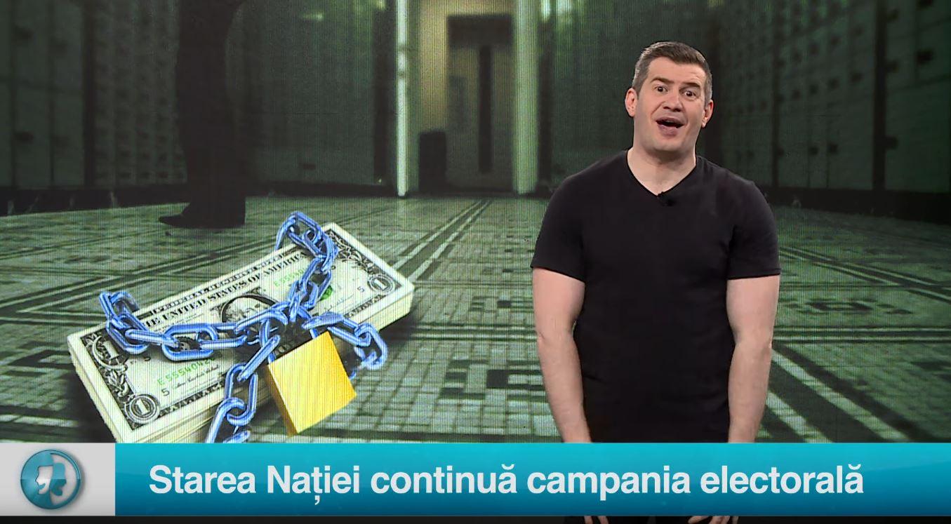 Starea Nației continuă campania electorală