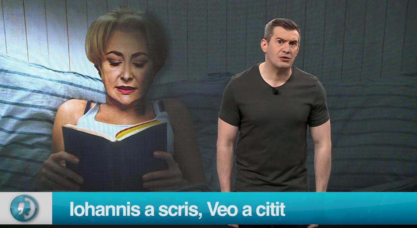Iohannis a scris, Veo a citit