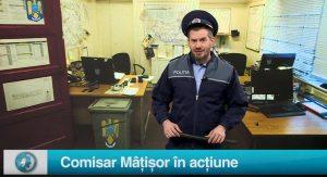 Comisar Mâțișor în acțiune