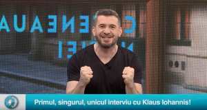 Primul, singurul, unicul interviu cu Klaus Iohannis!