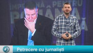 Petrecere cu jurnaliști